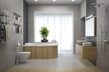 Bathroom Renovation Borderless Shower