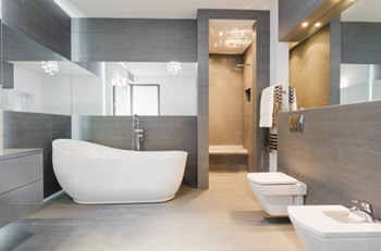 Bathroom Renovation Floating Toilet
